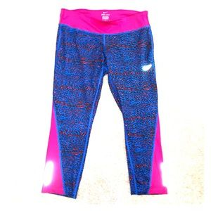 Nike Dri-fit Cheetah Leggings